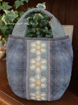 画像1: お花畑のバルーンバッグ♪