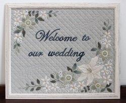 画像1: weddingのタペストリー♪
