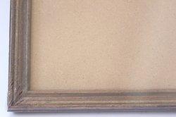 画像3: 木製フレーム/こげ茶(内寸30cm×30cm)