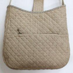 画像2: フラップ付きバッグ(手提げまたはショルダー)/バラの刺繍