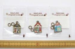 画像1: INAZUMA ファスナー飾り(丸カン2ヶ付)