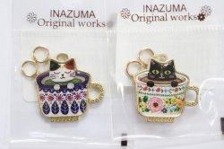 画像2: INAZUMA ファスナー飾り(丸カン2ヶ付)