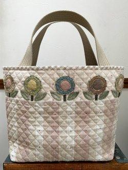 画像2: お花のトートバッグ