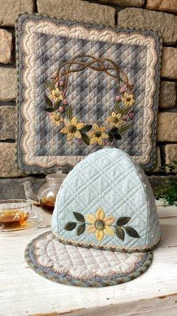 画像4: ティーコゼー&マット/秋の花