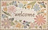 画像: お花のwelcomeボード♪
